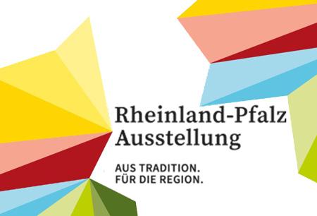RHEINLAND - PFALZ AUSSTELLUNG logo