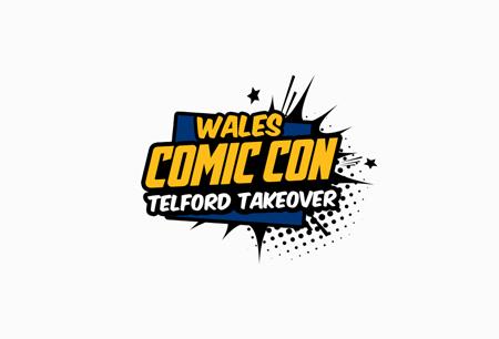 Wales Comic Con logo