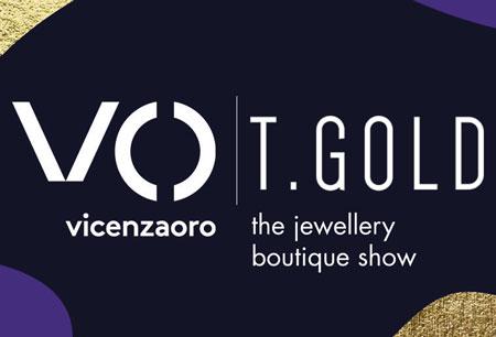 VICENZAORO + T-GOLD logo