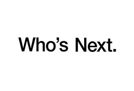 Who's Next logo