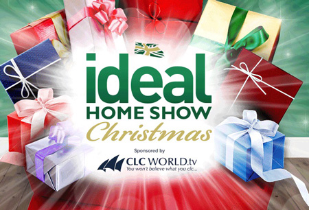 IDEAL HOME SHOW CHRISTMAS logo