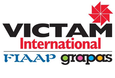 FIAAP - VICTAM - GRAPAS INTERNATIONAL logo